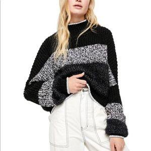 Free People cool night sweater
